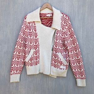 Odd Molly 248 Charger jacket knit 1 S red cream